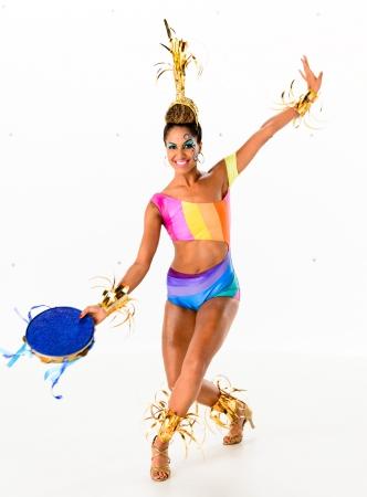 「グロべレーザ」のダンサーに選ばれたエリカ・モウラさん Globo/ Ramon Vasconcelos