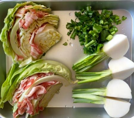 野菜のはさみ方と切り方