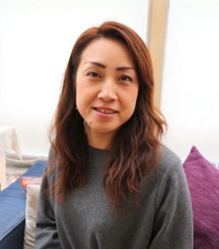 こんにゃくを扱う和田商店の奥さんでもある和田久美さん。和田商店のこんにゃくは京都の老舗料亭も愛用している。