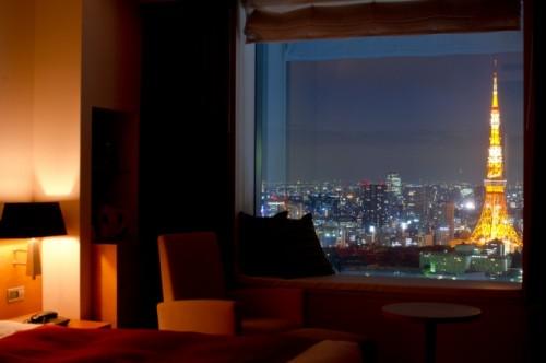 東京タワービューダブルの眺望