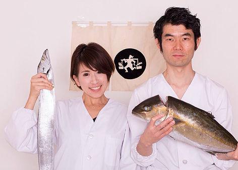 「ノマド魚屋」の浅井さん夫婦