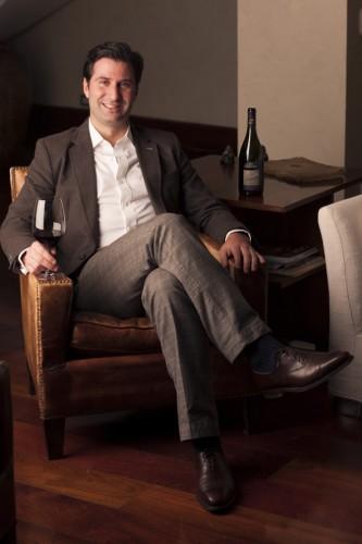 グラン・マルニエ(オレンジ・キュラソー)創業者一族がチリに起こした新たな名門ラポストールのCEO、シャルル・ド・ブルネ・マルニエ・ラポストール氏。