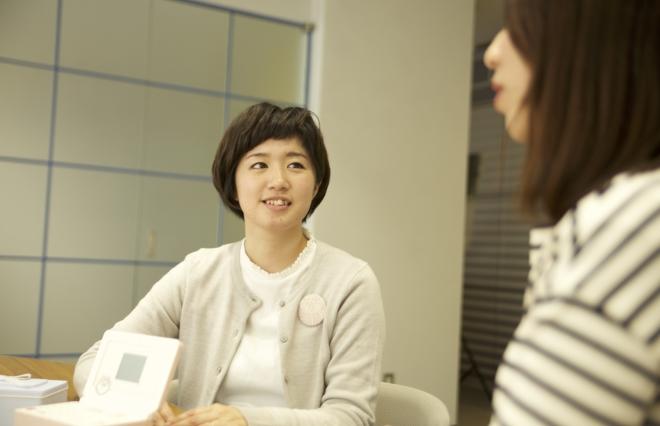 「キングジム」開発本部の井上彩子さん