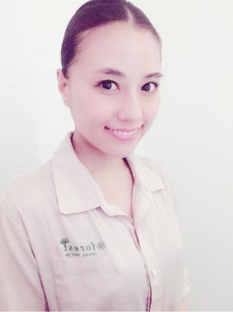 「 @forest」店長の米盛春香さん