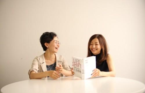鈴木(左)と海野P(右)