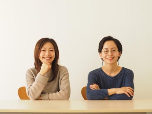 海野P(左)と鈴木編集長(右)