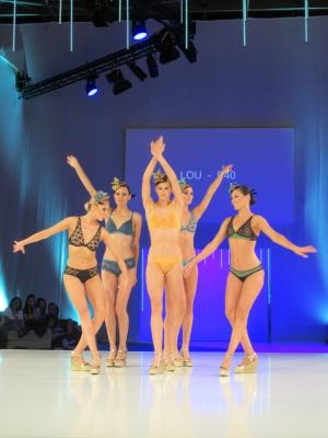 昨年7月にパリで開催されたランジェリーのトレードショー「モードシティ」でのショーのワンシーン。