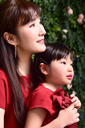 女社長と次女。photo by photo studio コノジ