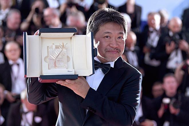 第71回カンヌ国際映画祭で最高賞のパルムドールを受賞した是枝裕和監督 写真:Pascal Le Segretain (C)2018 Getty Images
