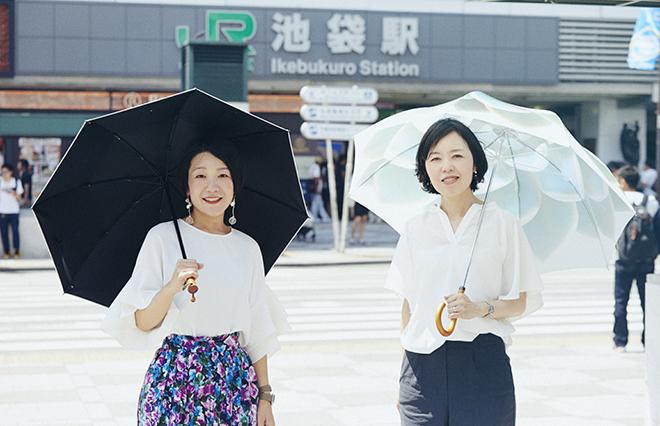 小沢あやさん(左)と宮田麻子さん