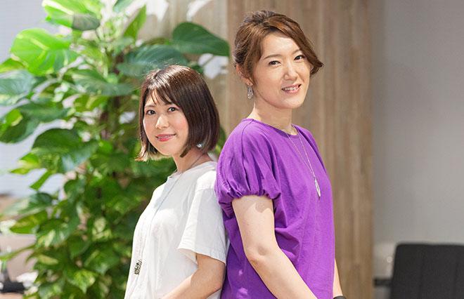 姫野さん(左)、河崎さん(右)