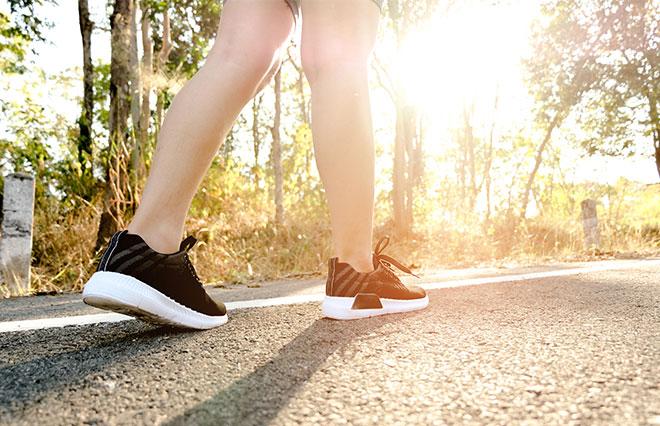 生活習慣を変えて痩せ体質に 今日からできる上手なウォーキング法