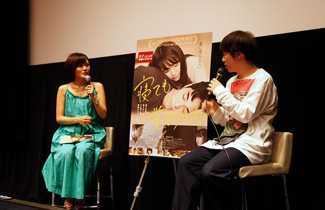 試写会後のアフタートークに登壇した、東さん(左)と清田さん(右)