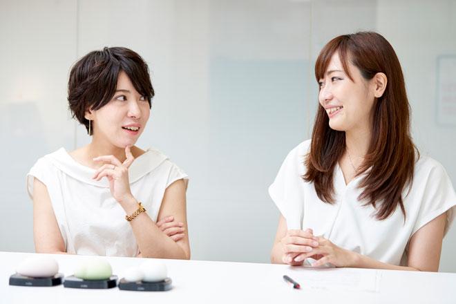 西野さん(左)と工藤さん(右)