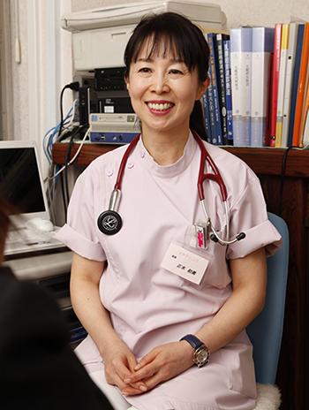 臨床内科専門医の正木初美先生