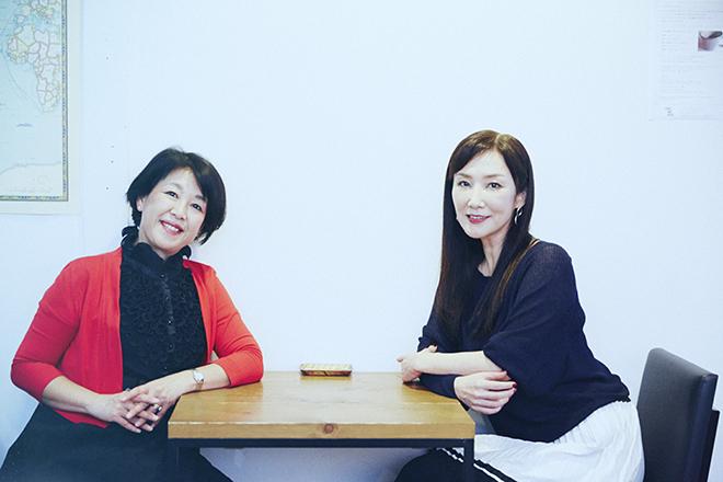 (左から)渡辺由佳里さんと川崎貴子さん