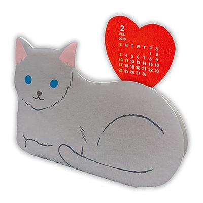メモスタンドカレンダー:ねこ