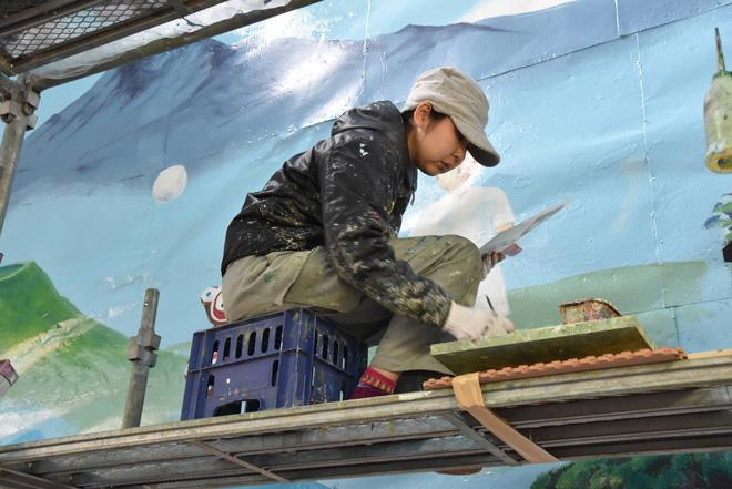 銭湯絵師の田中さん