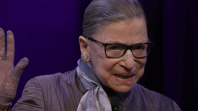『RBG 最強の85才』(C)Cable News Network. All rights reserved.