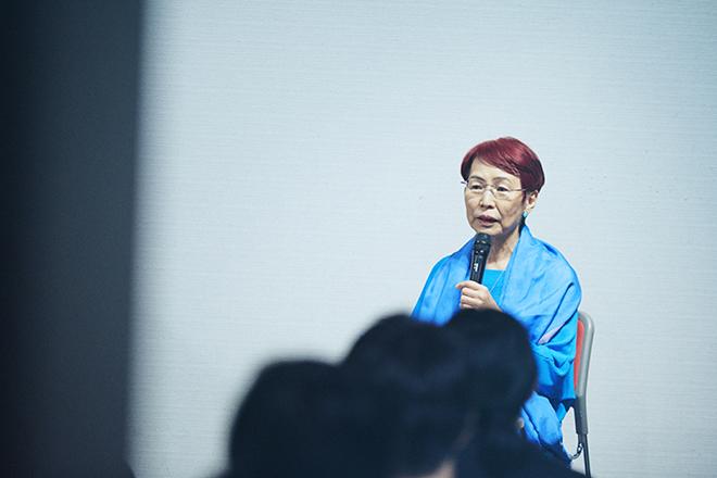 社会学者の上野千鶴子さん