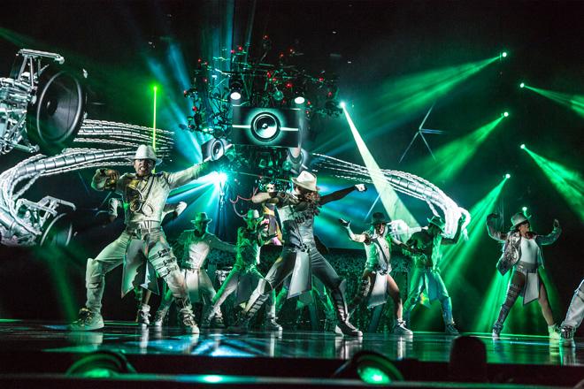 日本でも人気のシルク・ド・ソレイユが常駐している/画像提供:Courtesy of Cirque du Soleil