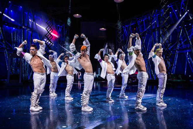 キレッキレのダンスに思わす「ワオ!」/Courtesy of Cirque du Soleil