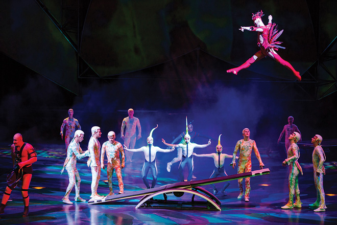 Mystere /Courtesy of Cirque du Soleil