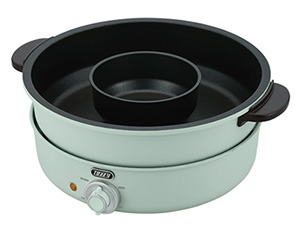 電気グリル鍋、1万2,000円、2020年1月9日発売。