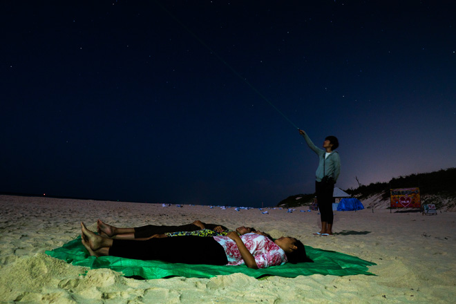 昌奈さんの解説は天体や星座への思いにあふれていました。