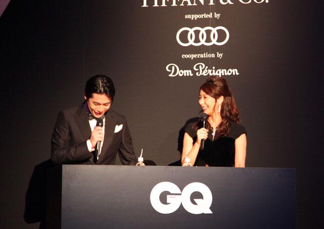 司会を務めた、吉村崇さん(左)と宇垣美里さん(右)