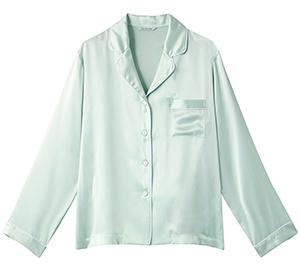 シルクパジャマ長袖トップス 20,000円