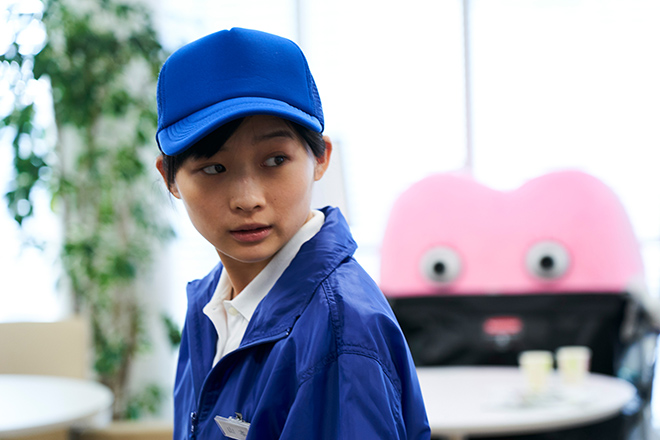 映画『生理ちゃん』の1シーン。伊藤さんは自分の気持ちに素直になれない山本りほを演じた。