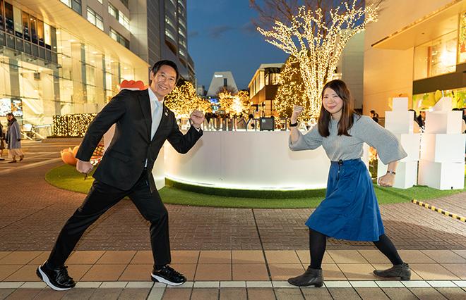 太ももを動かしてキレイに! 東京・西新宿で「FUTOMOMO すっきりウォーク」開催