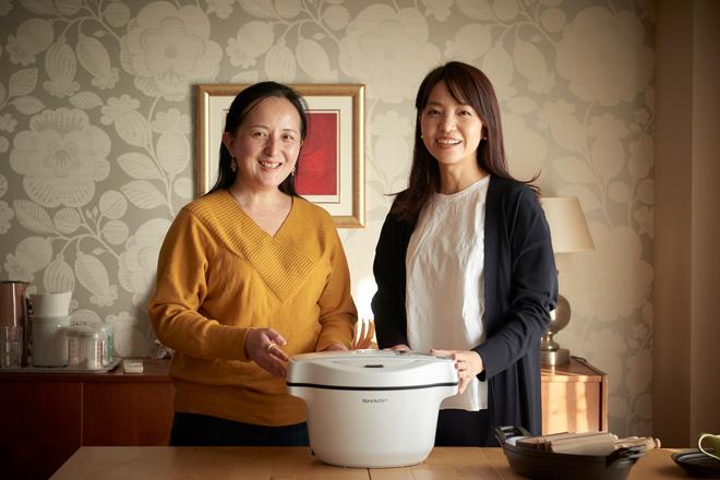 石川さん(左)と夏目さん(右)