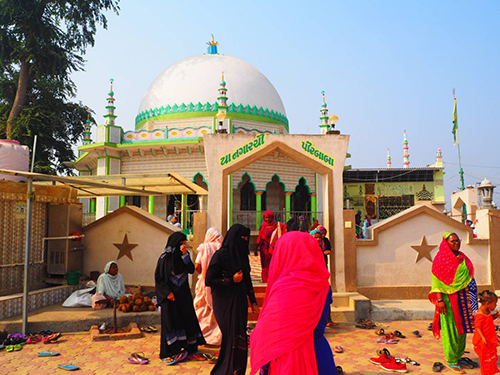 モスクの様子。