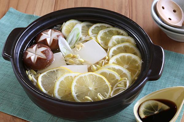 完成もやしレモン湯豆腐 (1)