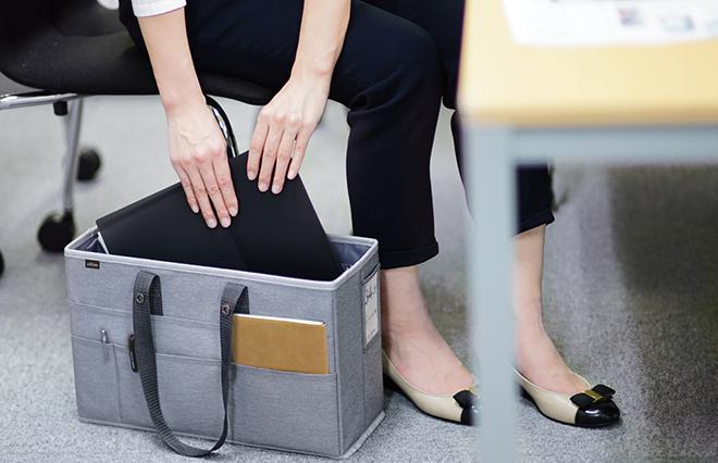 在宅勤務でも大活躍! 仕事ツールをまとめて収納できるミーティングバッグ