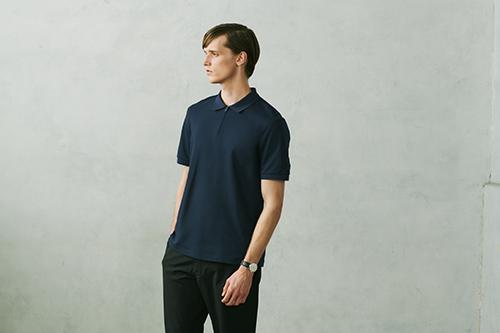エアリズムカノコスリムフィットポロシャツ