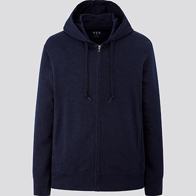 エアリズムUVカットフルジップパーカ(長袖)/1,990円