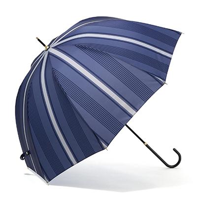 ストライプ長傘