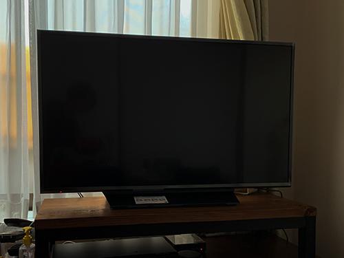 Amazon Prime Dayで買い換えた43型のテレビ