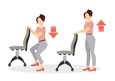 Sport,Exercises,For,Office.,Office,Yoga,For,Tired,Employees,With