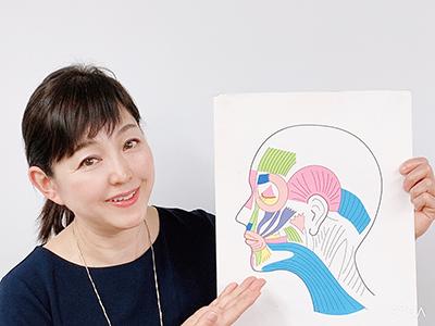 フェイスストレッチング協会認定講師の後藤英美さん