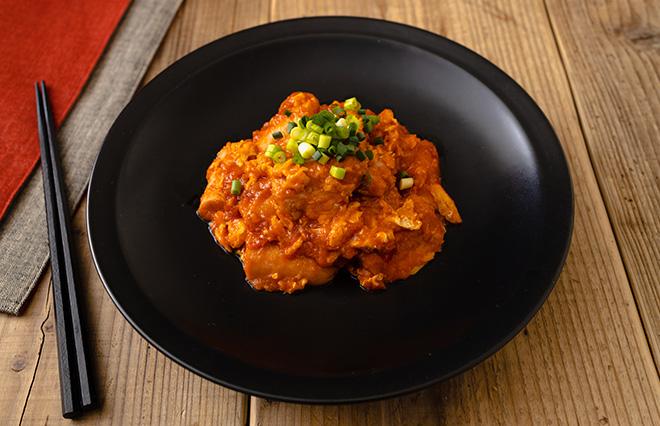 魚肉ソーセージをエビの代わりに…「ギョニチリ」【ジョーさん。の節約・ヘルシーレシピ】