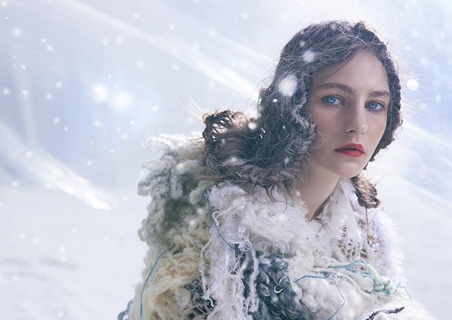 「雪解け」の先に見える美しさを表現したキービジュアル
