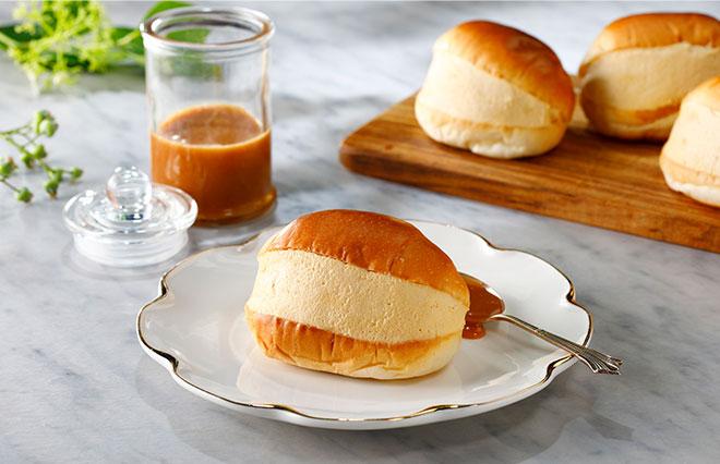 マリトッツォをロールパンで作ってみよう【塩スイーツレシピ】