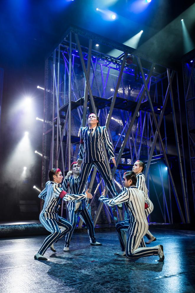 日本人のメンバーも登場します/Courtesy of Cirque du Soleil