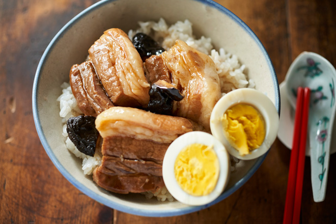 「台湾魯肉飯風煮込み」第1章、ほっとくだけでおいしい煮物・煮込みより